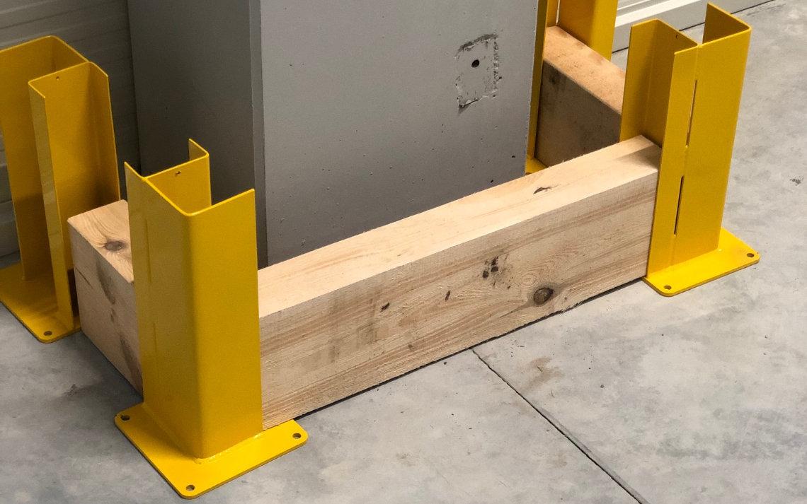 odboje metalowo drewniane