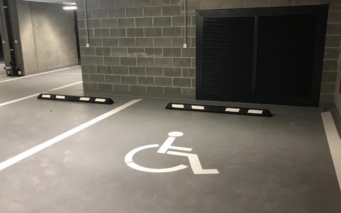 odbojnica parkingowa