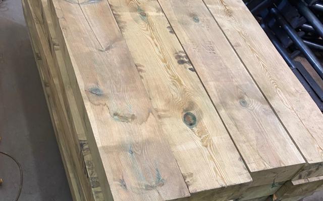 Odbojnica drewniana ODO