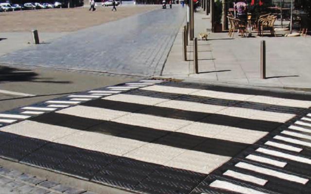 Wyniesione przejście dla pieszych